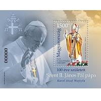 II. János Pál pápa 2020 index