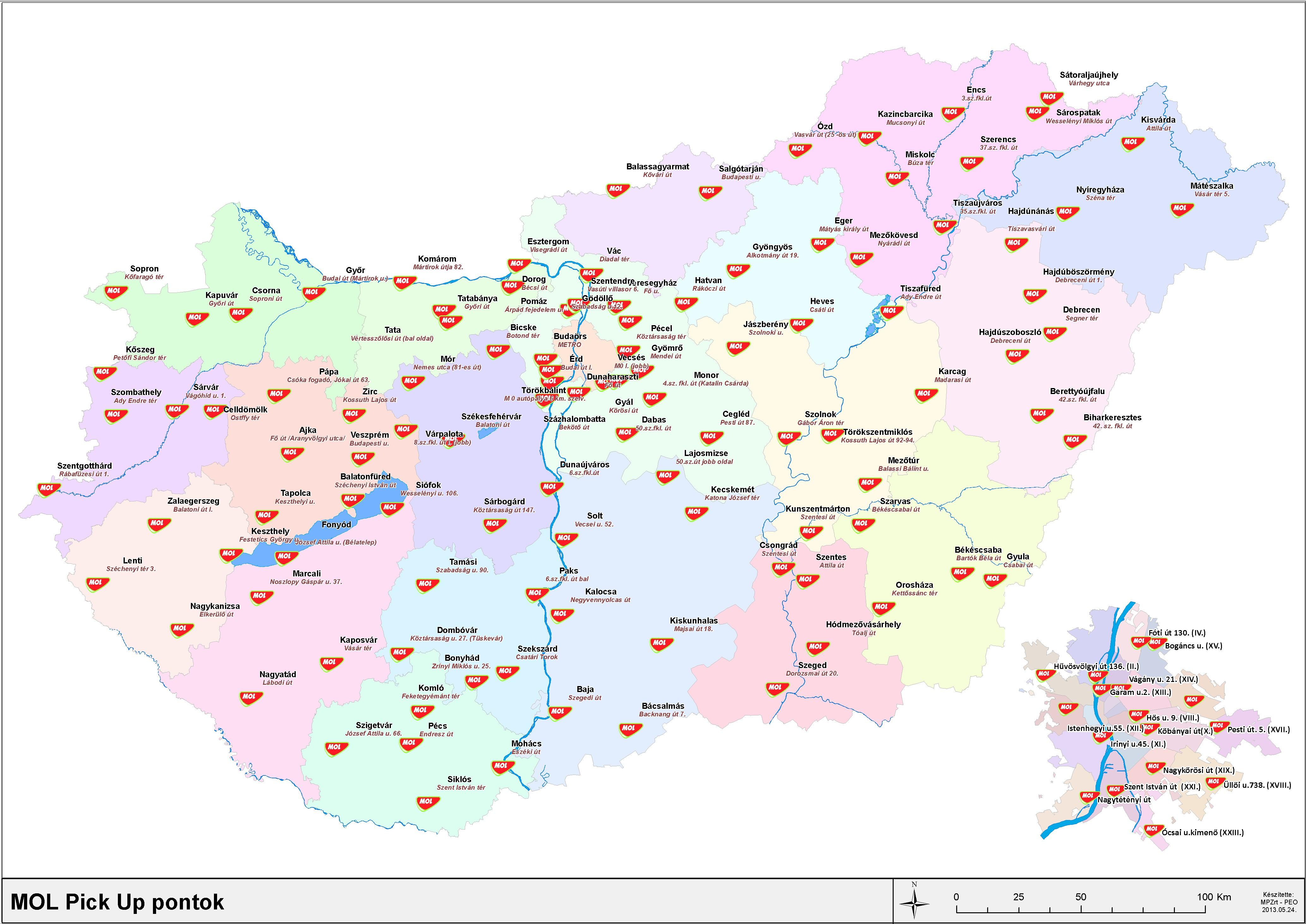 benzinkút térkép Szállítási feltételek benzinkút térkép